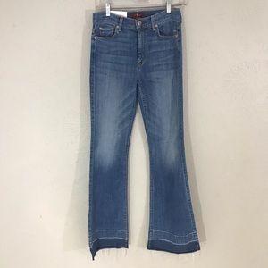7 for all mankind Ginger wide leg trouser 29